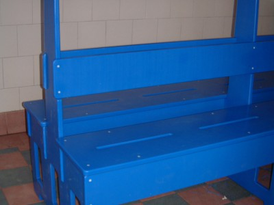 Swimming Pool Changing Room Furniture Poly Advisory